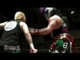 Kendo Kashin, NOSAWA Rongai vs. Pagano, Psycho Clown (AAA - Lucha Libre Victoria World Cup 2017)