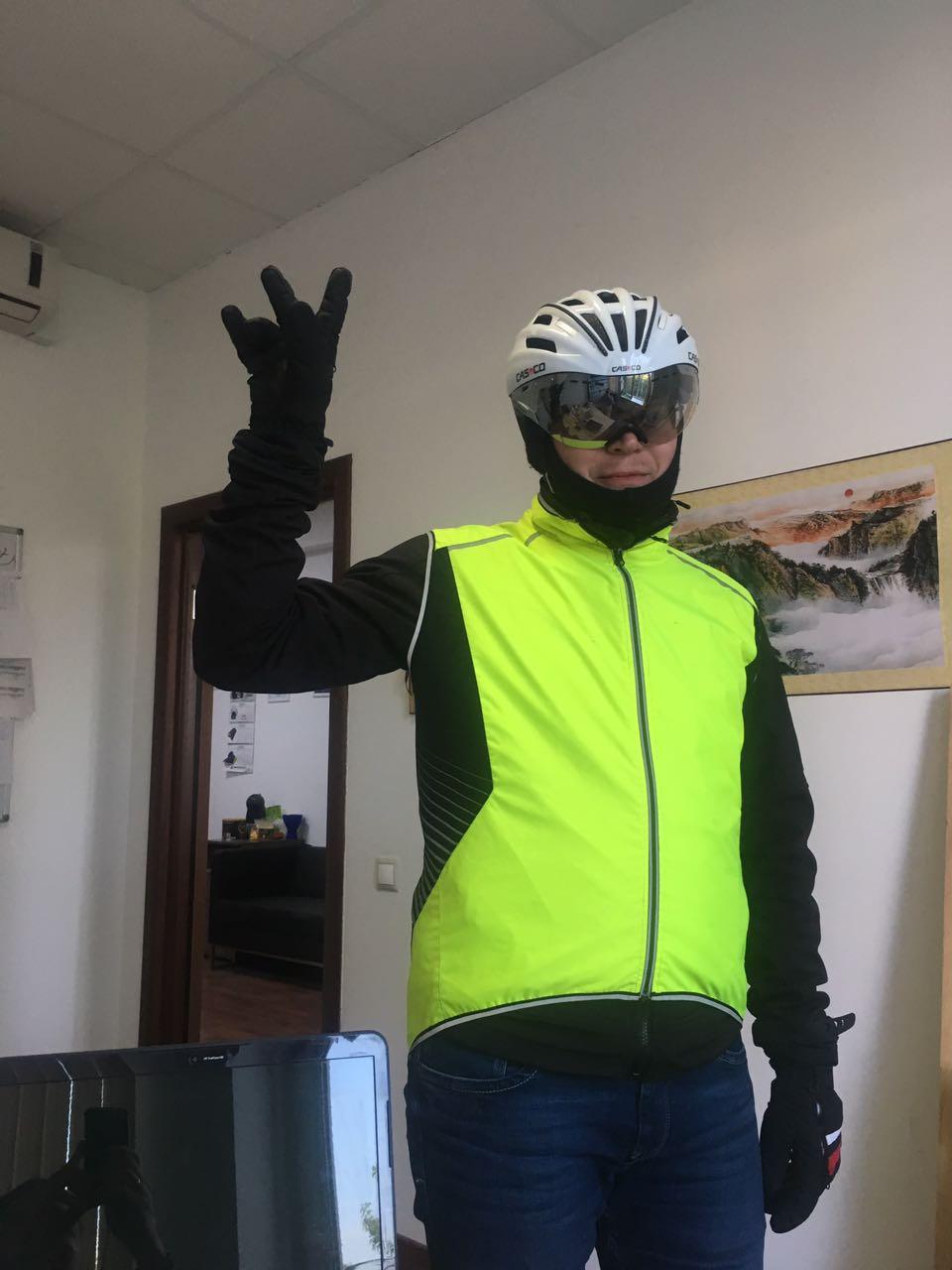 Bicycle Windshield - ветровой щиток на велосипед