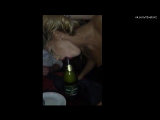 на бутылку