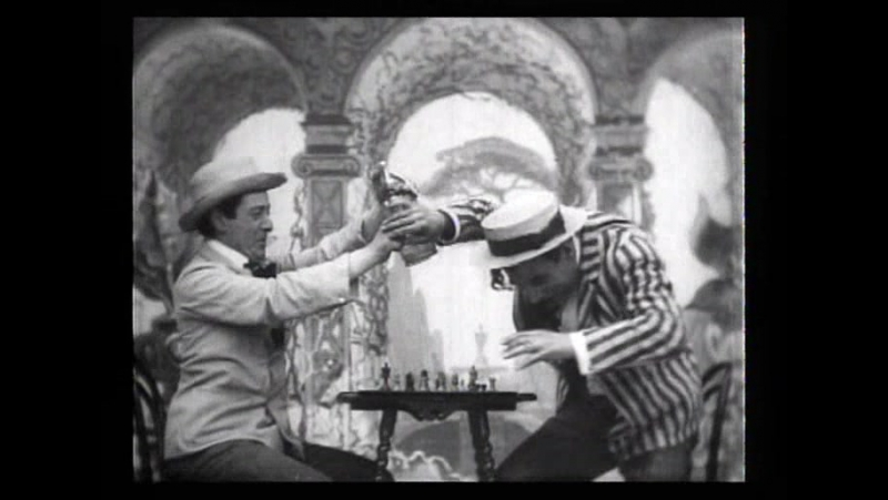 51 A chess dispute (Robert W.Paul, 1903)