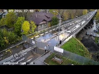 Штурм Гоголевского моста!