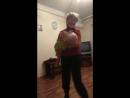 Женя танцует с прабабушкой Ниной