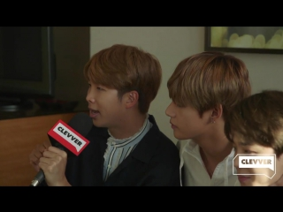 170528 BTS Clevver News Interview Part 3 - BTS Plays The Superlative Game