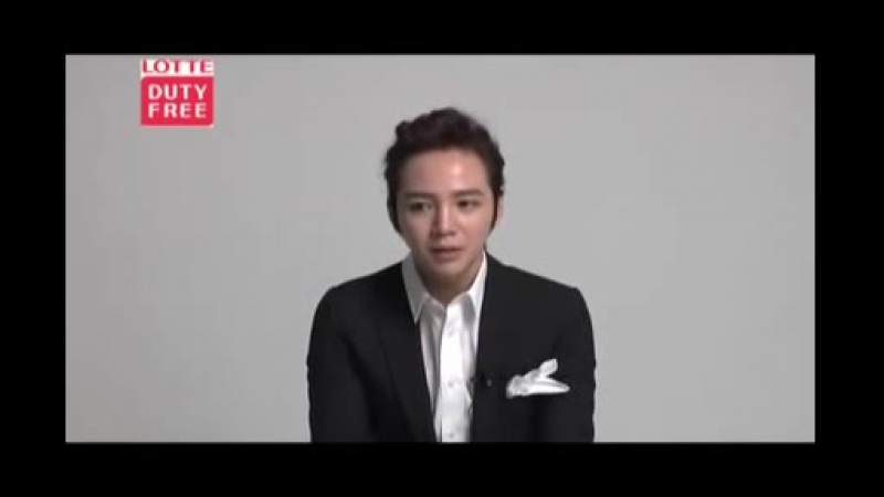 [2012] Interview from Jang Keun Suk for Lotte Duty Free.