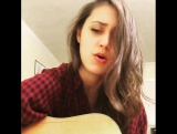 Writing so many songs all the time, sometimes I just love to be a fan and sing other peoples' lovely tunes. This is one of my fa