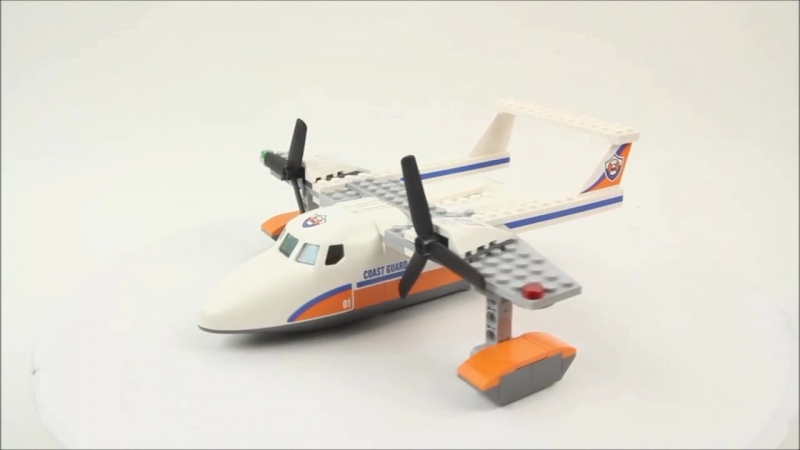 LEGO City Спасательный самолет береговой охраны 60164 - Быстрая сборка лего