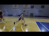 Тренировка Дависа Бертанса в составе сборной Латвии