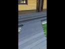 монтаж дорожек из террасной доски