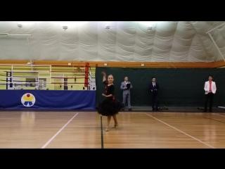 Семенова Виктория, спортивно-бальные, 12 лет (РТ, г.Альметьевск)