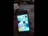 Видеоотчет о подлинности iPhone 4s Blak(для Сергея из Гродно)