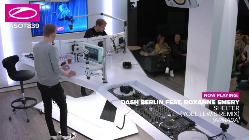 Dash Berlin feat. Roxanne Emery - Shelter (Yoel Lewis Remix) [ASOT839]