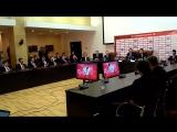 Пресс-конференция Олега Знарка и Романа Ротенберга 02.05.2017