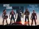 VHS | Трейлер: «Лига Справедливости  Justice League» | ОЦИФРОВКА КАССЕТЫ