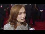 Isabelle Huppert on the Globes Red Carpet | Изабель Юппер