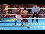 Один из лучших раундов в истории бокса(всегда вставай и увидишь как падает соперник)