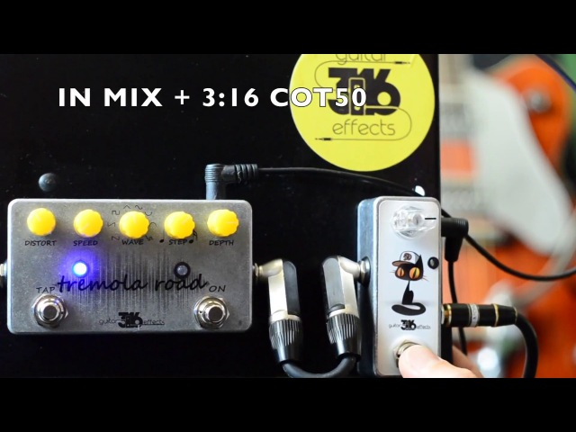 Tremola Road optic tremolo by 3:16 Guitar Effects