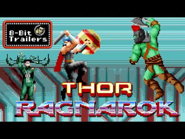 THOR: RAGNAROK - 8-Bit Trailers (2017) Chris Hemsworth, Taika Waititi Marvel Movie