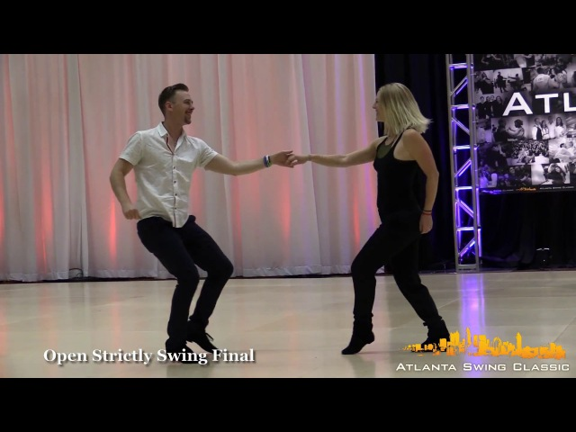 Ben McHenry and Courtney Adair - Atlanta Swing Classic Open Strictly Swing Final