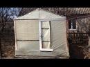 Самый бюджетный вариант постройки теплиц / Как сделать теплицу меньше чем за 20 д ...