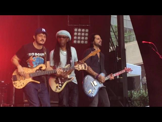 Blecaute - Live- Jota Quest ft. Nile Rodgers