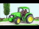 Traktor Animacje i inne Wesoły Traktorek Praca i Zabawa Fairy tractors for Kids