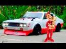 Мультфильмы про Смелые Гоночные Машины и Монстр Трак Гонки в Городке 2D Мультики ...