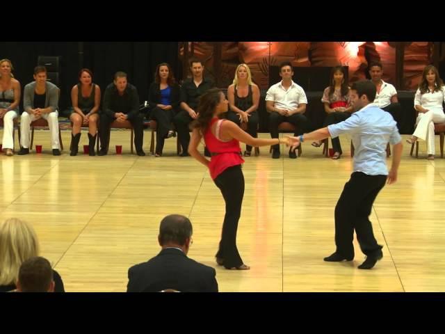 Ben Morris Torri Smith - 1st Place 2012 Phoenix July 4th Champions Strictly Swing