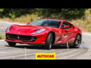 Ferrari 812 Superfast review   New 800hp supercar tested   Autocar
