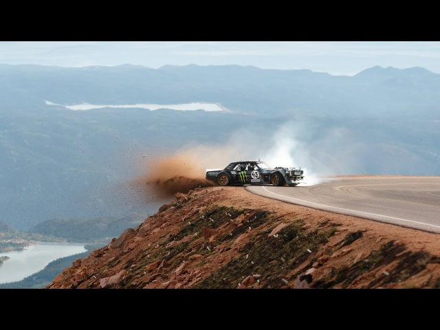 Ken Block's Climbkhana Pikes Peak Featuring the Hoonicorn V2