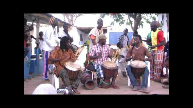 Sénégal djembe.fantastique PACO BOKA CAMARA IBRO.à la somone.2009