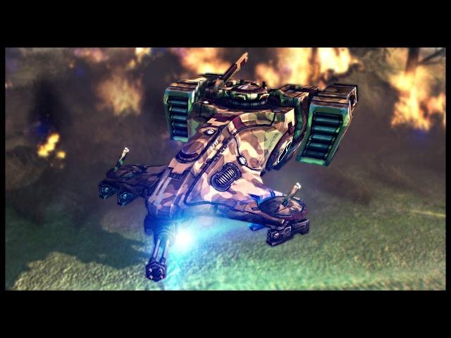 TAU EMPIRE VS IMPERIAL GUARD! Warhammer 40k Mod