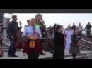 Шымкентте күтпеген жерден жаппай домбыра тартқандар тұрғындарды қуантты видео
