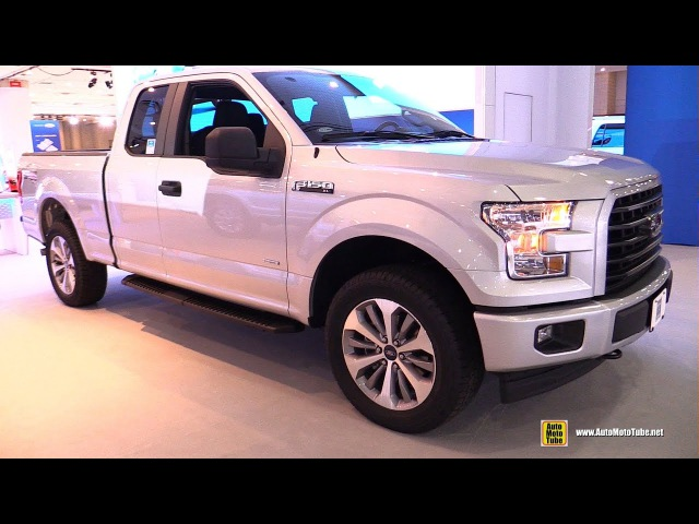 2017 Ford F150 XL Super cab - Exterior and Interior Walkaround - 2017 NY Auto Show