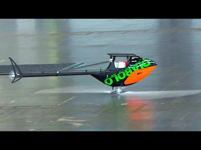 MINICOPTER DIABOLO 700 3D INDOOR FLIGHT MILES DUNKEL / Fair Leipzig Germany 2016