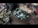 Разбор Коробки передач на снегоходе Yamaha Viking