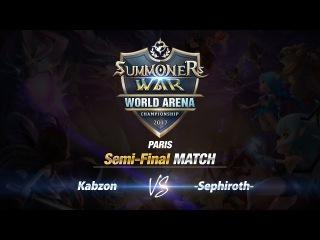 SWC Paris Полуфинал: Kabzon vs Sephiroth