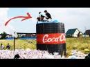 10 000 ЛИТРОВ КОКА КОЛА МЕНТОС 10 000 liters of Coca Cola Mentos