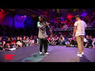 Icee vs Waydi FINAL Hiphop Forever - Summer Dance Forever 2015