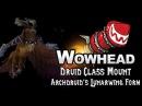 Druid Class Mount - Archdruid's Lunarwing Form