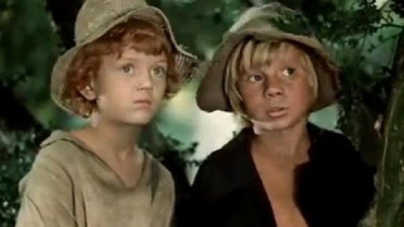 «Приключения Тома Сойера и Гекльберри Финна», 2-я серия, Одесская киностудия, 1981