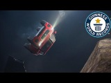 Stunt driver Terry Grant performs insane barrel roll in Jaguar E-Pace - Guinness World Records