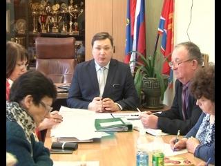 Совещание председателей ТОСов у главы города
