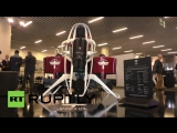Monaco- Private helicopters passe Try the worlds first practical JETPACK!(2016)