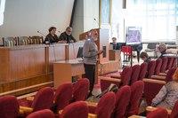 Ведущая заседание Г.В. Синицына ( Институт истории материальной культуры РАН, Санкт-Петербург)