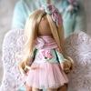 Куклы, игрушки ручной работы