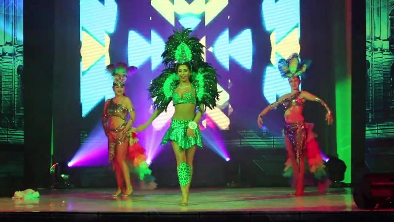 Бразильская Самба Амалия-Вероника и студия танца Joumana dance