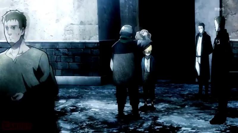 Клип из аниме Вторжение Гигантов Атака Титанов Shingeki no Kyojin (AMV)
