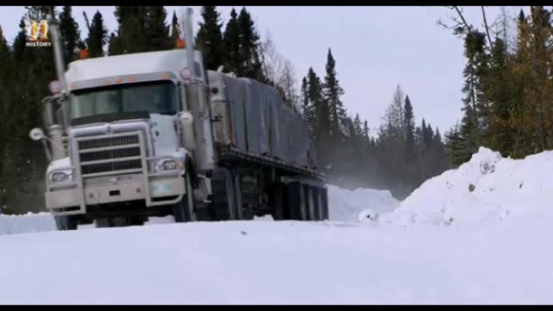 Ледовый путь дальнобойщиков 10 сезон 3 серия - Поломка / Ice Road Truckers (2016)