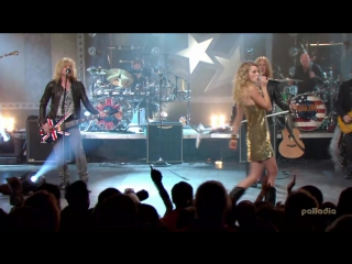 Taylor Swift feat. Def Lepard - Should've Said No/Pour Some Sugar on Me (CMT Crossroads 2008)
