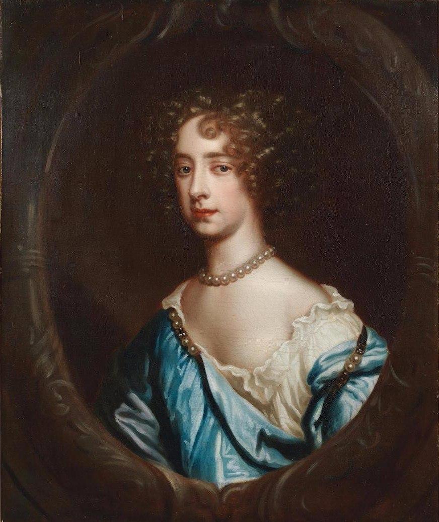 Портрет Марии II с аукциона Bonhams
